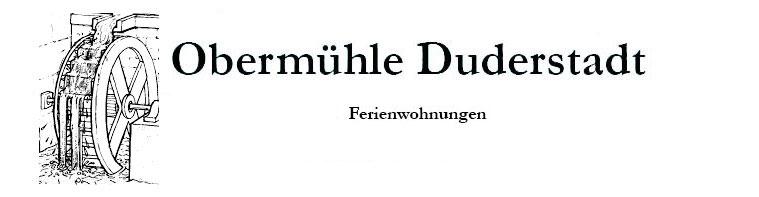 Obermühle Duderstadt